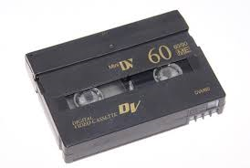 Mini DVs and High 8 camcorder tapes